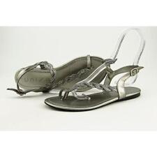 Calzado de mujer sandalias con tiras Unisa plata