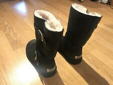 Ugg Kensington Boots - Black - Size UK 3.5