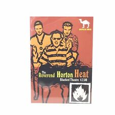 The Reverend Horton Heat At Bluebird Theatre April 2, 2000 Promo Card