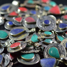 200 REAL COINS TRIBAL GYPSY BELLY DANCE BANJARA ETHNIC AFGHAN JEWELRY STONE MIX