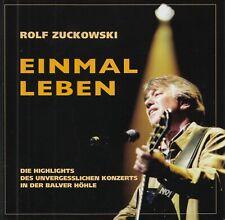 ROLF ZUCKOWSKI : EINMAL IM LEBEN / CD