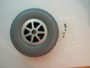 NEW Scooter chair wheel, for a Jazzy motorized chair.  Part number WHLASMB1728