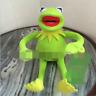 "Kermit Sesame Street Muppets Kermit the Frog Toy plush 12"""