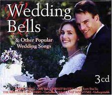 Wedding Bells & Other Popular Wedding Songs Platters, Shirley Bassey, DEA [3-cd]