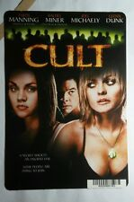 CULT TARYN MINER MICHAELY DUNK MINI POSTER BACKER CARD (NOT a dvd movie )