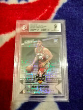 2016-17 PANINI PLAYER OF THE DAY BEN SIMMONS RC /50 BGS GRADED 9.0 ROY? 76ERS