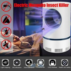 Advanced LED Light Mosquito Exterminator – Suction Fan, No Zapper, Child Safe 5W