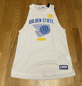 Under Armour NBA Combine Golden State Warriors Vest Small BNwT 1349037 Rare