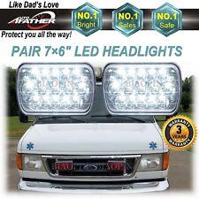 2× CREE LED Headlight Headlamp Upgrade for Ford Super Duty Truck E450 E550 E350