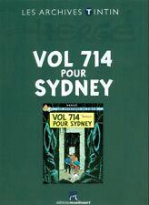 Hergé – Archives Tintin - Vol 714 pour Sydney - Moulinsart / Atlas