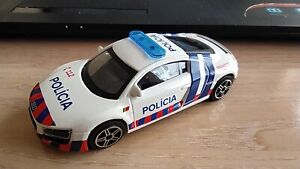 BBURAGO - AUDI R8    POLICE PORTUGAL      1/43 APROX *NEW*