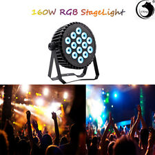 U`King 160W Par Stage Light LED RGBW DMX Rainbow Effect DJ Disco Party Show US
