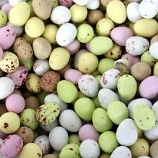 MILK CHOCOLATE MINI EGGS  COLOURS  WEDDING PARTY FAVOURS EASTER 1 Kilo