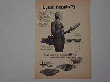 advertising Pubblicità 1956 ALFRA ALESSI