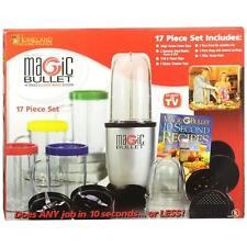 The Original Magic Bullet 17 Piece Hi-Speed Blender Mixer System Kitchen Cooking