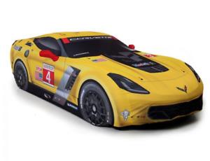 C7 Corvette 2014+ GM C7R Corvette Racing Indoor Car Cover Yellow