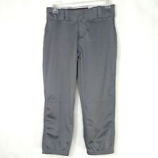 Under Armour One-Hop Baseball Softball Pants Women Size XS Gray Athletic USP520W