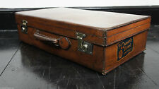 Leather 40-60L Suitcases with Extra Compartments