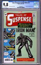 TALES OF SUSPENSE #39 FACSIMILE EDITION - CGC 9.8. 1st App Iron Man Marvel 11/20