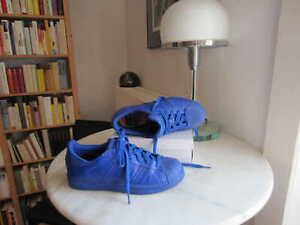 ADIDAS Sneakers EQUALITY Superstar 5.5=38.5 royal-blau Echt-Leder NEU