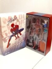 Amazing Spiderman 2 Spiderman Sideshow Exclusive Hot Toys Signed by Stan Lee New