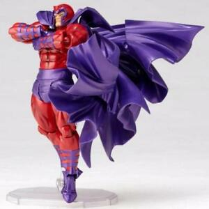 Kaiyodo 006 Marvel X-Men Magneto Amazing Yamaguchi Revoltech Action Figures Toy