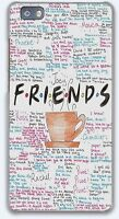 Friends TV Funny Show hard case cover for iPhone 7 8 X XS Samsung S9 Huawei Sony