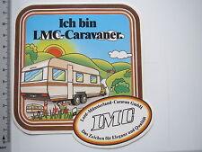 Aufkleber LMC Lord Münsterland Caravan 610 Oldtimer Wohnwagen (M1810)