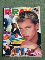 BRAVO MAGAZINE 9 JULY 1987 MADONNA GEORGE MICHAEL SAMANTHA FOX GERMAN
