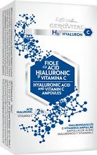 FIALE CON ACIDO IALURONICO E VITAMINA C - GEROVITAL H3 HYALURON C