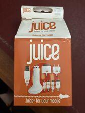 Juice Multi Punta En Coche Cargador Para iPhone 3/3G/4/4S iPad 1 2 HTC Samsung BB LG