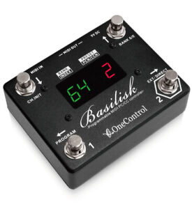 One Control Basilisk MIDI Controller guitar pedal