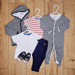 Baby Boy JASPER CONRAN Bundle 3-6 Months (6pcs) Mixed Clothes + Shoes *Free P&P*