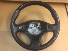 MGF / MG TF - Black Leather Steering Wheel. Mk1 Type With Straight Spokes (3)