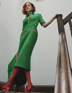 Gucci Green Tweed Dress- With Tags- RRP$4,900 AUD