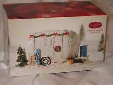 NEW St. Nicholas Square Christmas Camping Trailer From The Village Collection