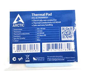 Arctic Wärmeleitpad Thermal Pad 50 mm x 50 mm x 1 mm,  6.0 W/mK