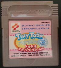 Nintendo Game Boy. Tiny Toon Adventures 3. DMG-EDJ