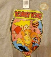 Donkey Kong Vintage Style Gray T-Shirt Nintendo Licensed Official SZ Medium New