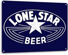 Lone Star Beer Texas Retro Vintage Wall Decor Bar Man Cave Metal Tin Sign New