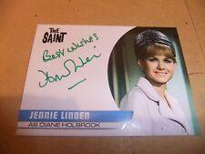 JENNIE LINDEN JL2 AUTOGRAPH CARD THE SAINT ROGER MOORE DOCTOR WHO DALEK DR