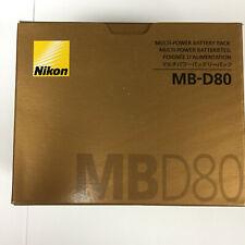 Genuine Nikon MB-D80 MULTI-POWER BATTERY PACK Battery Grip for D80 D90