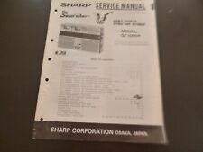 Original Service Manual Schaltplan  Sharp GF-666H