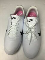 NEW Men's NIKE INFINITY G SPIKELESS #CT0535-100 Golf Shoes Sz 13