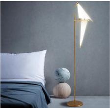 LED Bird Living Room Floor Lamp Bedroom Origami Floor Light Lamp Metal Lighting