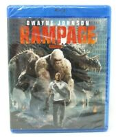 Rampage (Bilingual) Blu-ray + DVD (2018) REGION FREE BLU-RAY