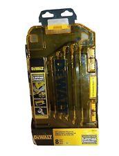 Dewalt 8 piece SAE Long Panel Combination Wrench Set  With Carry Case DWMT73809