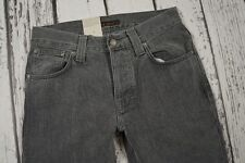BNWT NUDIE JEANS DENIM NJ3849 GRIM TIM GREY PHANTOM ORGANIC 29/32 W29 L32