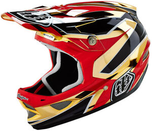 Troy Lee D3 Composite Full Face MTB / BMX Helmet - Berzerk Army Green
