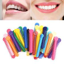3Pc Mixed Color Dental Orthodontic Ligature Ties Braces Elastomeric Rubber Bands